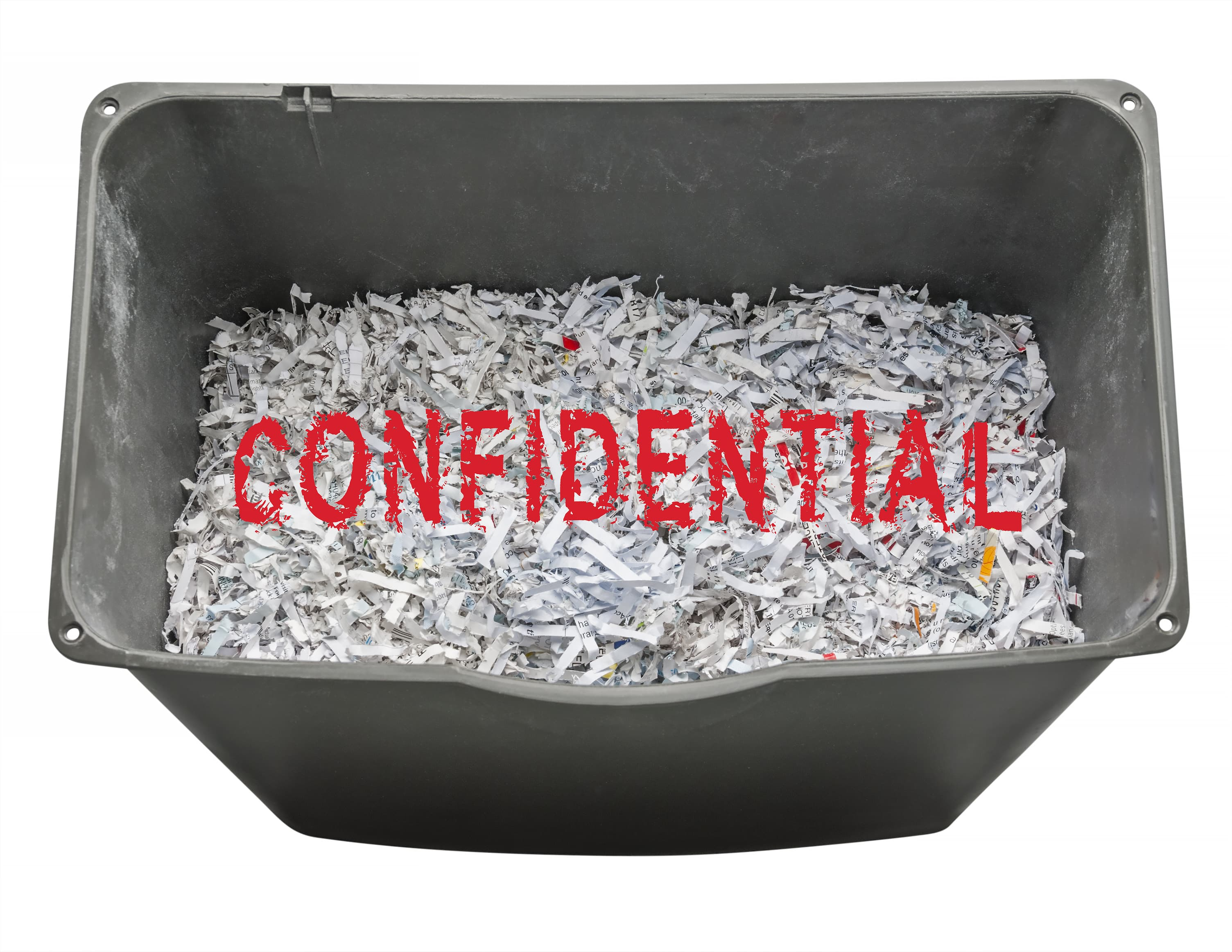 Make securing your confidential waste your New Year resolution